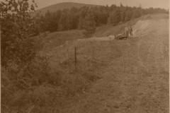 Rozhrnutý terén pro LK - zahájení výstavby střelnice  2.8.1988