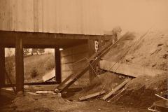 16 Stavba venkovních schodů 1989