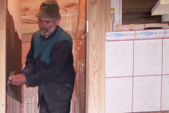 18. 1. 2010 - Obklady WC podkroví