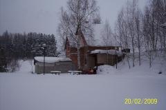 20. 2. 2009 - Spící chata  pod sněhem