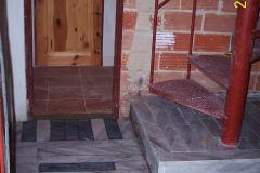 28. 1. 2008 - Dokončení podlahy v chodbě  II. N.P
