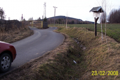 23. 2. 2008 - Příjezdová komunikace