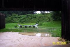 26. 6. 2009 - Střeliště 50m po vydatném dešti
