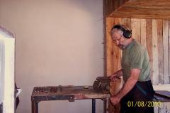 1. 8. 2010 - Výroba biatlonových terčů