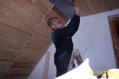 5. 12. 2009 - Zateplení a bednění stropu v podkroví