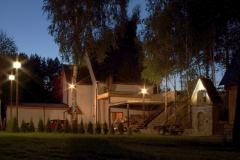 Chata v noci